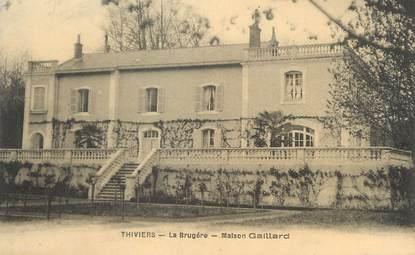 """/ CPA FRANCE 24 """"Thiviers, la Brugère, maison Gaillard"""""""