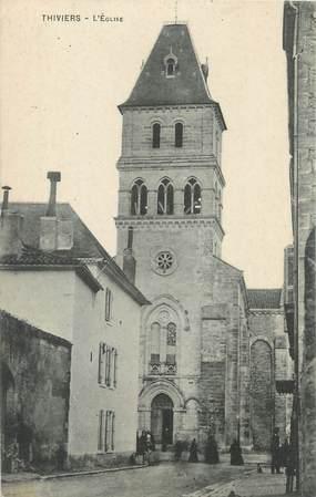 """/ CPA FRANCE 24 """"Thiviers, l'église"""""""