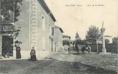 """/ CPA FRANCE 38 """"Salaise, rue de la mairie"""""""