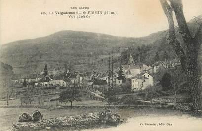 "CPA FRANCE 05 ""Saint Firmin, Le Valgodemard, vue générale"""