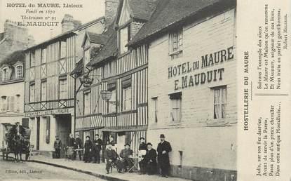 "CPA FRANCE 14 ""Hotel du Maure, Lisieux"""
