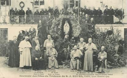 """CPA FRANCE 14 """"Caen, souvenir des Fêtes du Triduum du B.J. Eudes, 1909"""""""