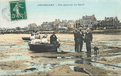"""CPA FRANCE 14 """"Grandcamp, vue générale du Perré"""""""