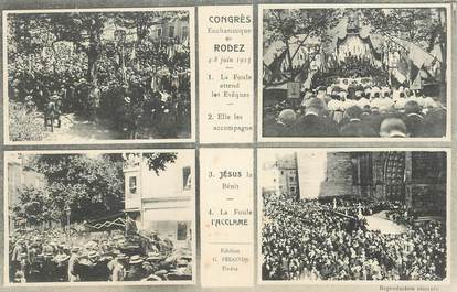 """CPA FRANCE 12 """"Rodez, Congrès eucharistique"""""""