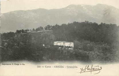 """CPA FRANCE 20 """"Corse, Orezza, Granajola"""""""