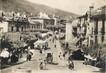 """/ CPSM FRANCE 64 """"Saint Jean Pied de Port, place Charles Floquet et place du marché"""""""