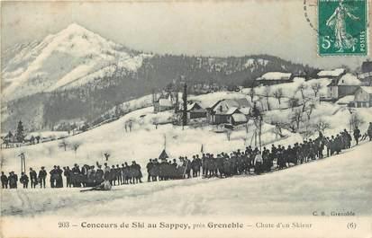 """/ CPA FRANCE 38 """"Le Sappey, concours de ski"""""""