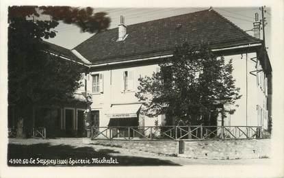 """/ CPSM FRANCE 38 """"Le Sappey, épicerie Michalet"""""""