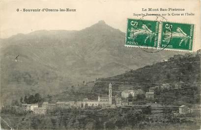 """CPA FRANCE 20 """"Corse, Orezza les Eaux, le Mont San Pietronne"""""""