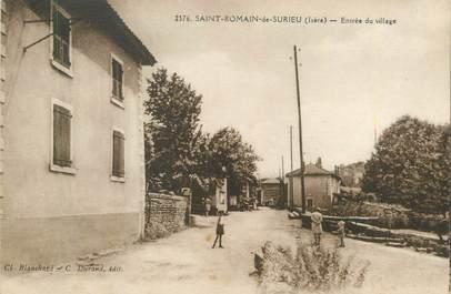 """/ CPA FRANCE 38 """"Saint Romain de Surieu, entrée du village"""""""