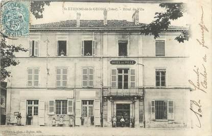 """/ CPA FRANCE 38 """"Saint Etienne de Saint Geoirs, hôtel de ville"""""""