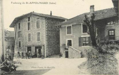 "/ CPA FRANCE 38 ""Faubourg Saint Appolinard"""