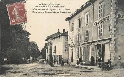 """/ CPA FRANCE 38 """"Le port de Saint Gervais"""""""