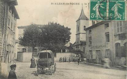 "/ CPA FRANCE 38 ""Saint Alban de Roche"""