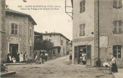 """/ CPA FRANCE 38 """"Saint Maurice de l'exil, centre du village"""""""