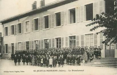 """/ CPA FRANCE 38 """"Saint Jean de Moirans, le pensionnat """""""