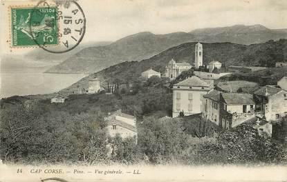 """CPA FRANCE 20 """"Corse, Pino, vue générale, Ed. L.L."""""""