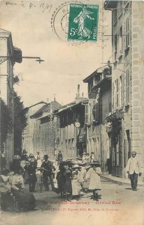 "/ CPA FRANCE 38 ""Saint Jean du Bournay, grand'rue"""