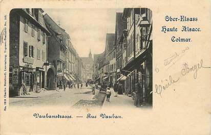 "CPA FRANCE 68 ""Vaubanstrasse, rue Vauban, Colmar"""