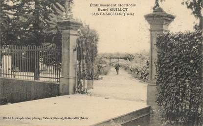 """/ CPA FRANCE 38 """"Saint Marcellin, établissements horticoles Henri Guillot"""""""