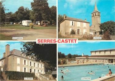 """/ CPSM FRANCE 64 """"Serres Castet """""""