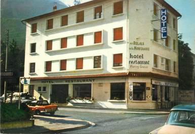 """/ CPSM FRANCE 65 """"Lourdes, hôtel restaurant au relais de la Montagne"""""""