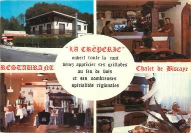 "/ CPSM FRANCE 65 ""Lourdes, restaurant Chalet de Biscaye"""