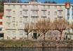 """/ CPSM FRANCE 65 """"Lourdes, Hôtel de l'Europe"""""""