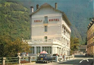 """/ CPSM FRANCE 65 """"Luz Saint Sauveur, station thermal, l'hôtel du Chili"""""""