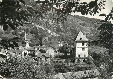 """/ CPSM FRANCE 65 """"Mauléon Barousse, le château et la tour"""""""