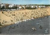 """66 PyrÉnÉe Orientale / CPSM FRANCE 66 """"Argelès sur Mer, la plage"""""""