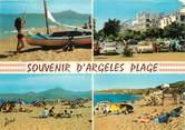 """66 PyrÉnÉe Orientale / CPSM FRANCE 66 """"Souvenir d'Argelès plage"""""""