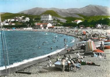 """/ CPSM FRANCE 66 """"Banyuls sur Mer, vue sur la plage"""""""