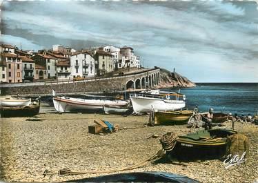 """/ CPSM FRANCE 66 """"Banyuls, vue sur la plage"""""""