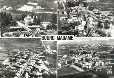"/ CPSM FRANCE 66 ""Bourg Madame, le pont international"""