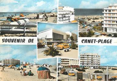"/ CPSM FRANCE 66 ""Canet Plage"""