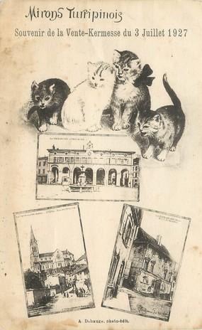 """/ CPA FRANCE 38 """"La Tour du Pin, souvenir de la vente Kermesse 1927"""""""