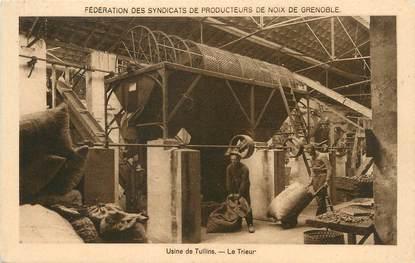 """/ CPA FRANCE 38 """"Usine de Tullins, le trieur"""""""