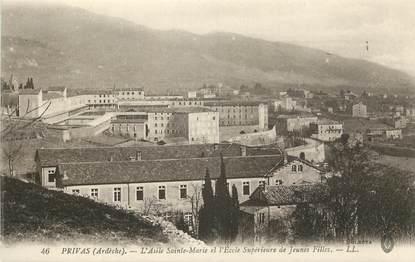 """CPA FRANCE 07 """"Privas, Asile Sainte Marie"""""""