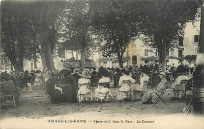 """/ CPA FRANCE 38 """"Saint Martin d'uriage, après midi dans le parc"""""""