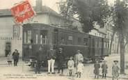 """87 Haute Vienne CPA FRANCE 87 """"Bellac, arrivée du tramway, avenue de la gare"""""""