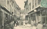 """87 Haute Vienne CPA FRANCE 87 """"Saint Yrieix, la rue du Pont"""""""