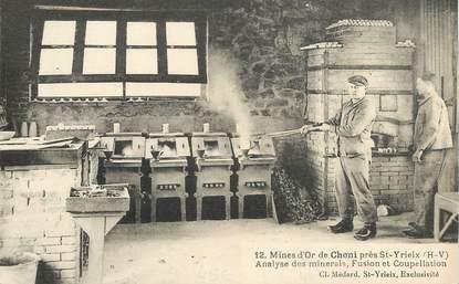 """CPA FRANCE 87 """"Mines d'Or de Cheni près Saint Yrieix"""""""
