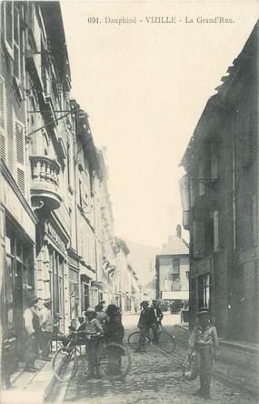"""/ CPA FRANCE 38 """"Vizille, la grand'rue"""""""