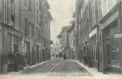 """/ CPA FRANCE 38 """"Vizille, la grande rue"""""""