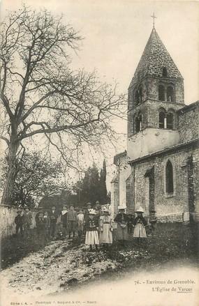 """/ CPA FRANCE 38 """"L'église de Varces"""""""
