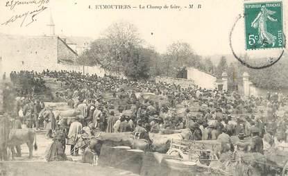 """CPA FRANCE 87 """"Eymoutiers, le champ  de foire"""""""