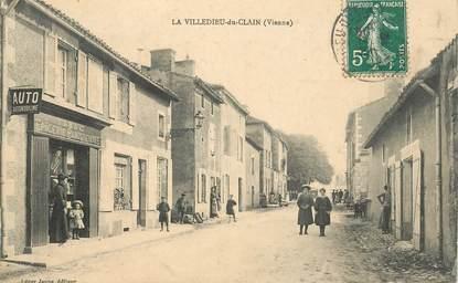 """CPA FRANCE 86 """"La Villedieu du Clain, Epicerie"""""""