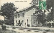 """86 Vienne CPA FRANCE 86 """"Mirebeau en Poitou, la gare"""""""