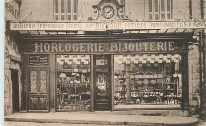 "CPA FRANCE 86 ""Loudun, Horlogerie Bijouterie"""